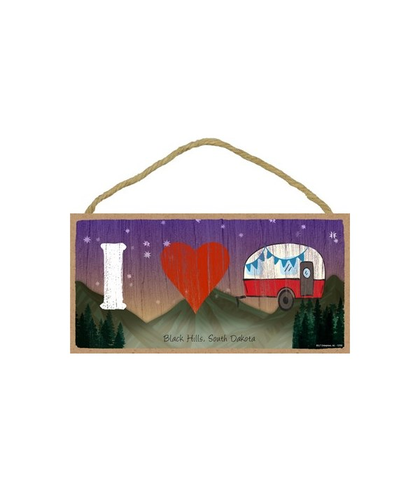 I (heart) Camper - symbols w/mountain bk
