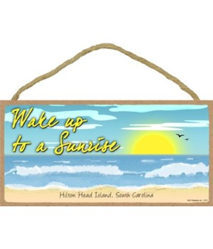 Wake up to a Sunrise - Beach scene w/wav
