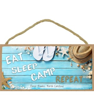 East - Sleep - Camp - Repeat - Beach the