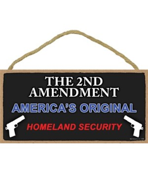2nd Amendment-America's Original... 5x10