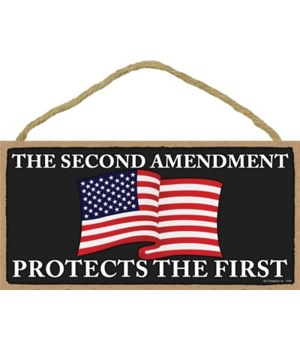 2nd Amendment-Protects the 1st 5x10