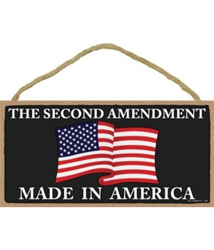 2nd Amendment-Made in America 5x10