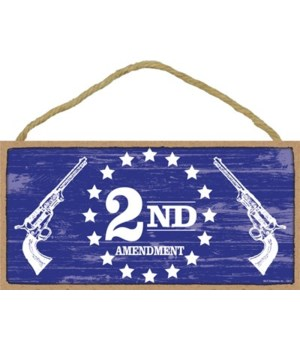 2nd Amendment (guns)  5x10