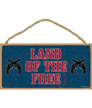Land of the Free (guns) 5x10