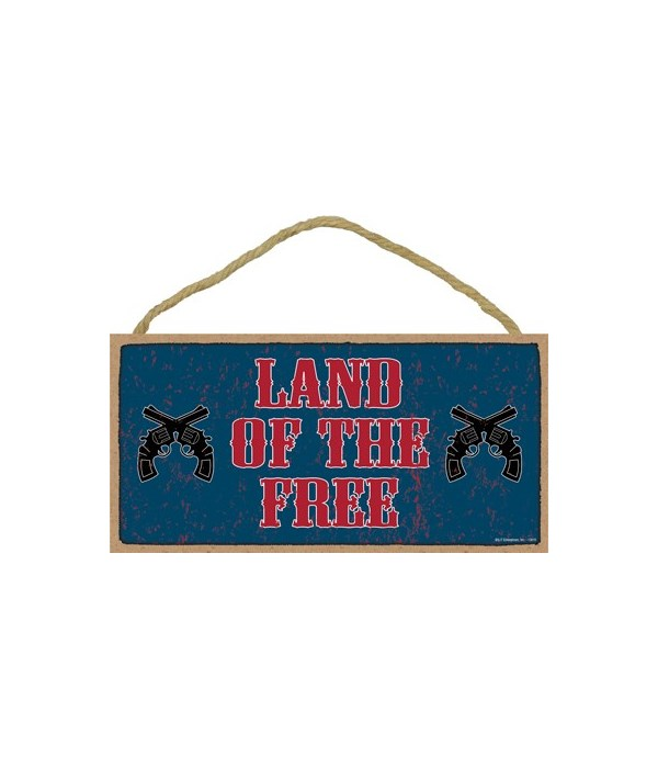 Land of the Free (guns) 5x10