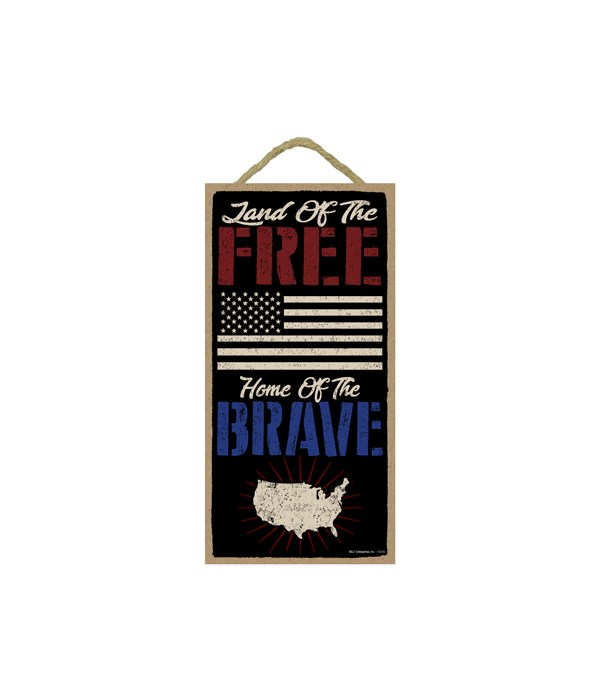 Land of the Free - Home of the Brave - f
