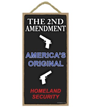 The 2nd Amendment - America's Original H