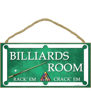 Billiards Room - Rack'em & Crack'em - po