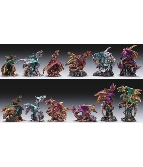 """Dragon 12pc set 4""""T"""