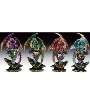 dragons with stone 4 pcs/set