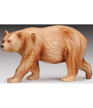 "Wood-like""carved""' Bear"