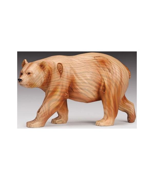 """Wood-like""""carved""""' Bear"""