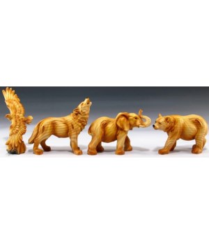 Eagle, Wolf, Elephant, Bear 12PC Unit