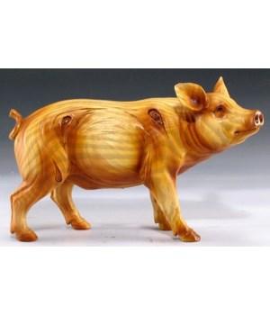"""Wood-like pig 4.5"""""""