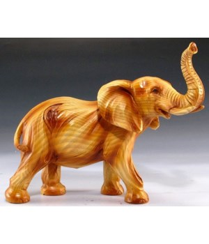 "Wood-like Elephant 5.75""T"
