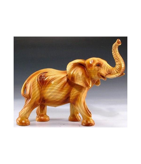 """Wood-like Elephant 5.75""""T"""