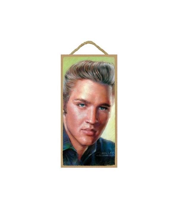 Elvis Presley (full color close up of hi