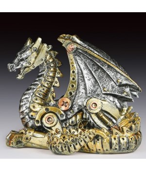 Steampunk  Dragon 3-3/4""