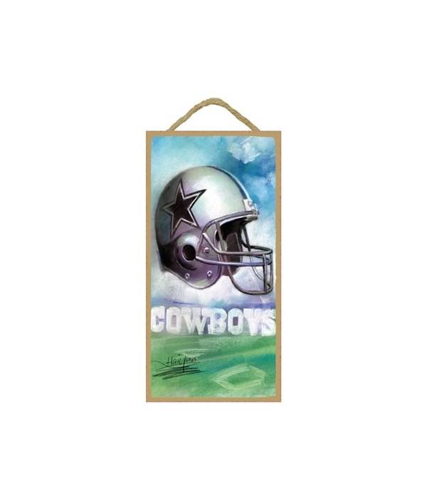 Dallas Cowboys helmet & logo