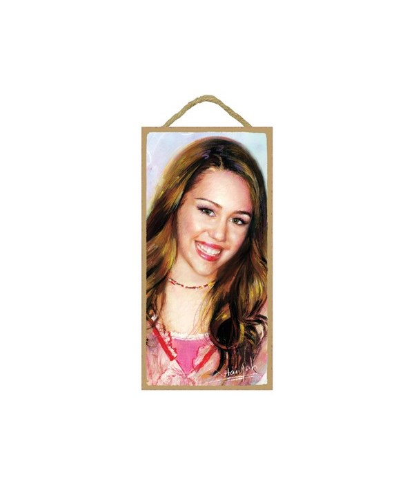 Hannah Montana (close up)