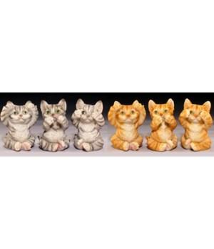 Cats See No Evil - 6 Asst / 12PC Unit