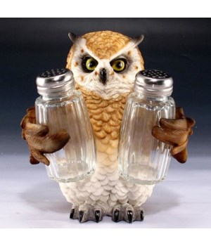 Owl Salt & Pepper Set - 5.75""
