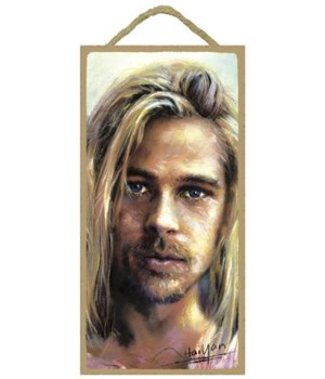 Brad Pitt (long blonde hair)