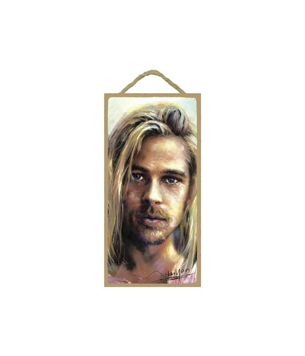 Brad Pitt (long blonde hair)