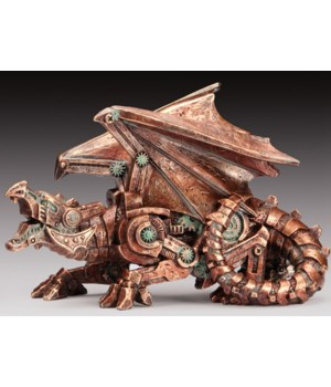 Steampunk Dragon 5.5""