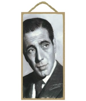 Humprey Bogart (black and white)