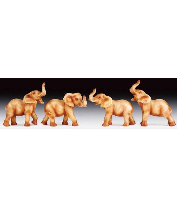 Elephants - 4 Asst / 12PC Unit