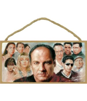 The Sopranos (characters) with James Gan