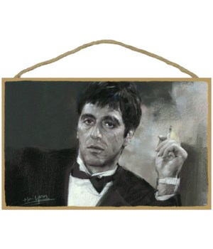 Scarface - Al Pacino with cigarette (bla