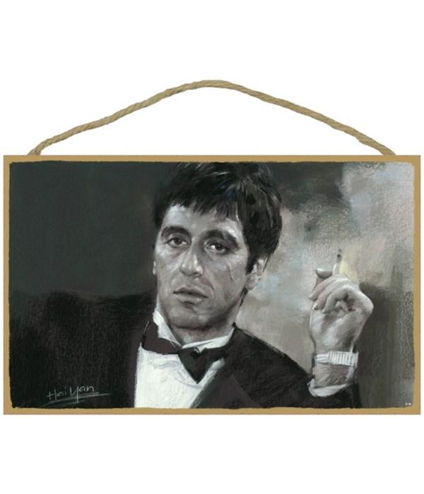 Scarface - Al Pacino with cigarette (bla