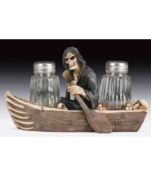 "*Reaper (Boat) Salt & Pepper Set - 5.75"""