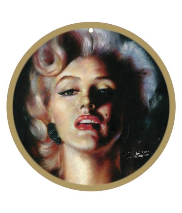 Marilyn Monroe (black background)