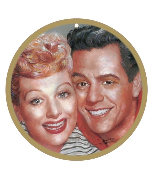 Lucy & Ricky (I Love Lucy Show) faces si