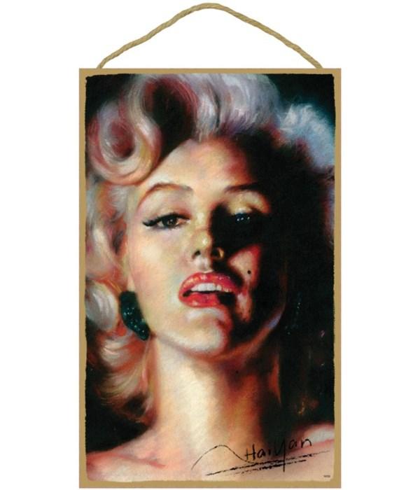Marilyn Monroe (color portrait)