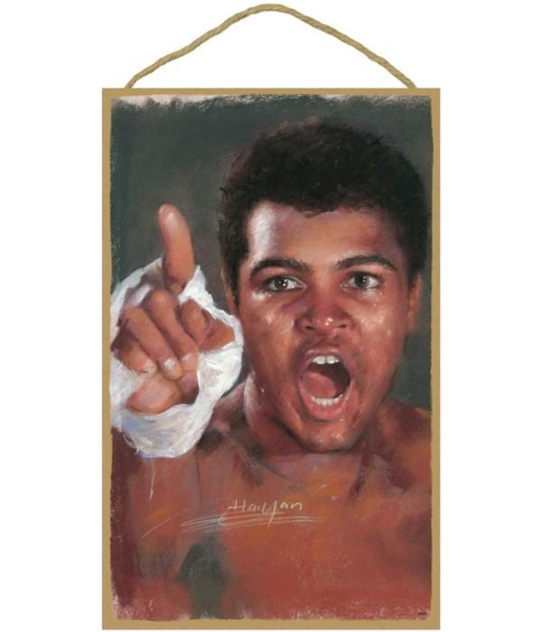 Muhammad Ali (pointing finger)