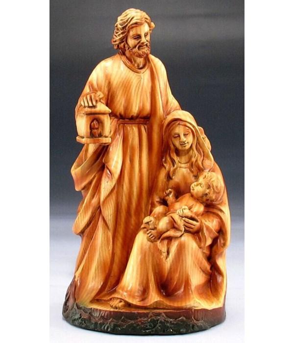 """Wood-like""""carved"""" Nativity"""