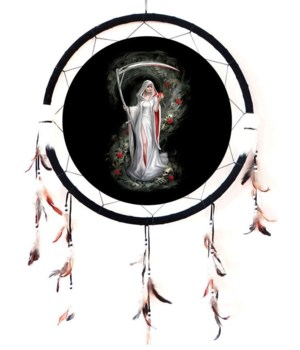 "Dreamcatcher 24"" Life Blood medallion"