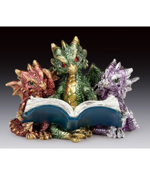"No evil dragons reading 3-1/4""T"