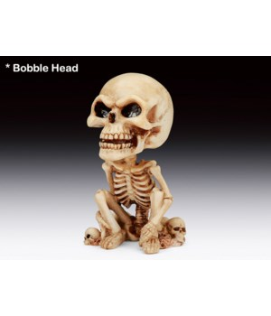 """Skelton bobble head 6 1/8""""H"""
