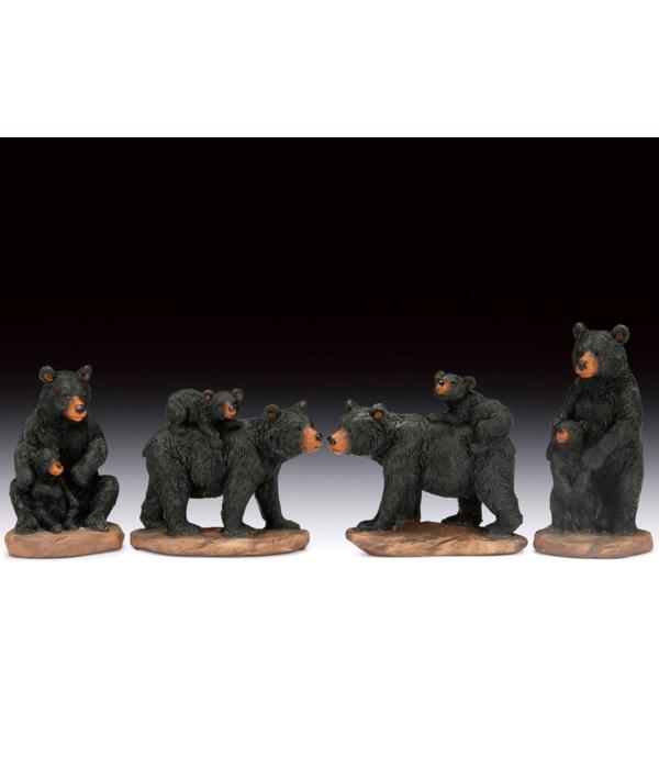 12 ASST. BLACK BEAR MOM/CUB