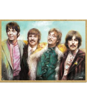 The Beatles (full color) Magnet