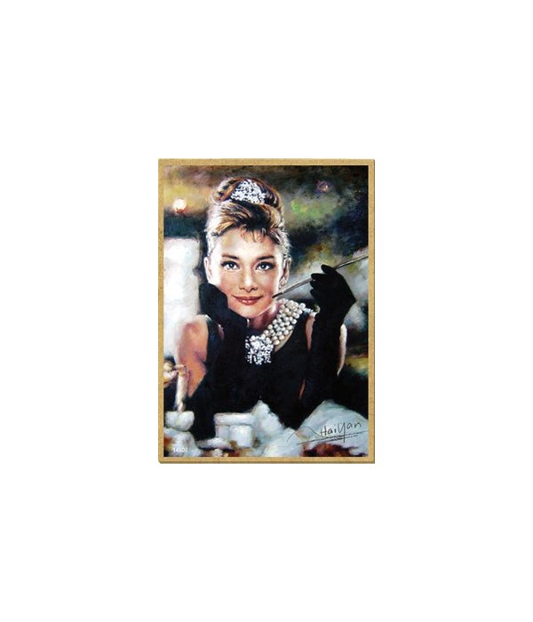 Audrey Hepburn (full color) Breakfast at