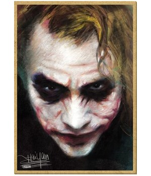 Joker (close up of face) Magnet