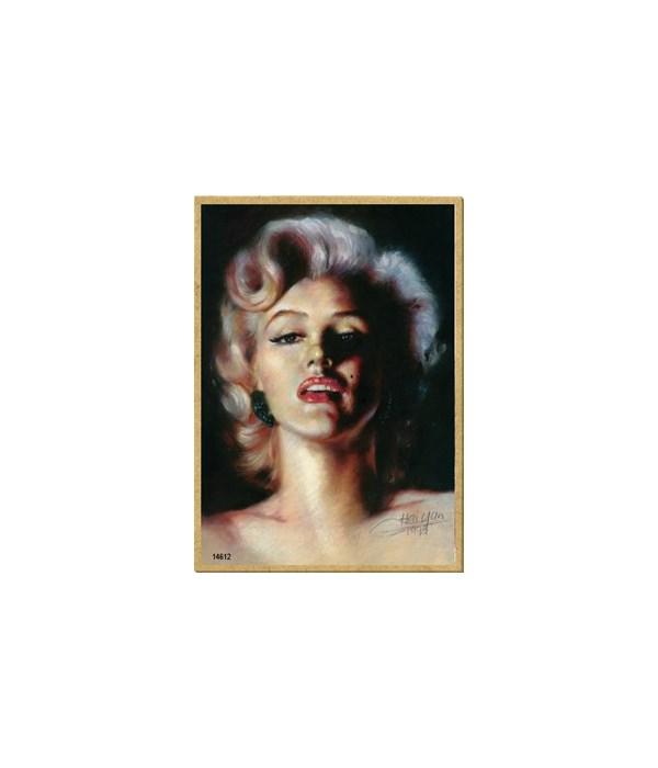 Marilyn Monroe (color portrait) Magnet