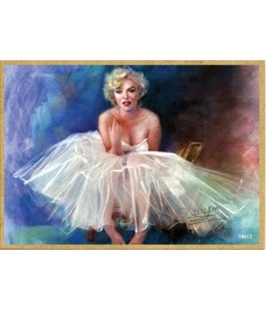 Marilyn Monroe (in a tu-tu dress) Magnet