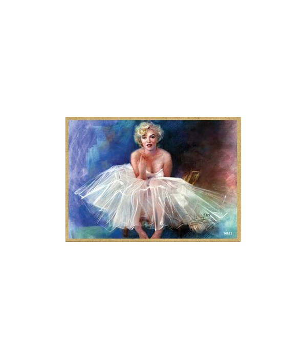 Marilyn Monroe (in a tu-tu dress) Magnet